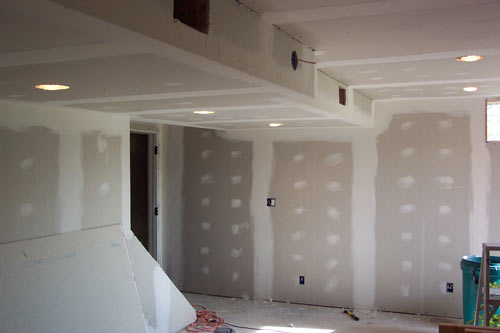 Basement - Drywall for basement