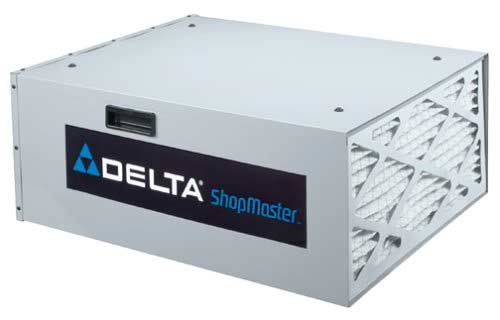 Delta Air Cleaner Filters : Dust collection