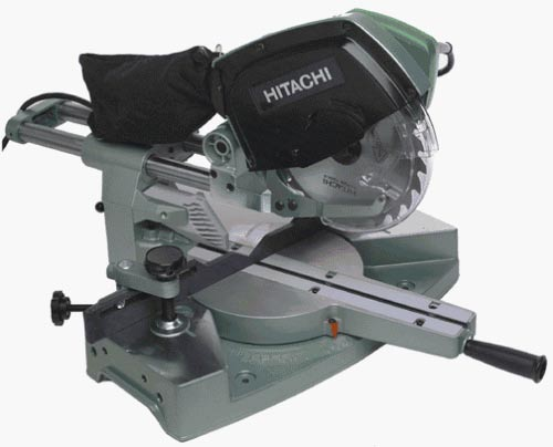 hitachi 10 miter saw. hitachi 10\ 10 miter saw