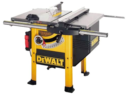 DeWalt DW746X Table Saw. 1-3/4 HP. Double cam-action fence for reliable