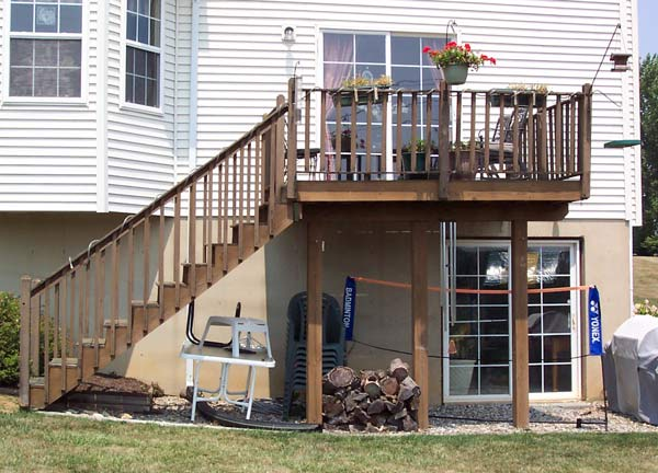 Deck Boards Replace Deck Boards Railings