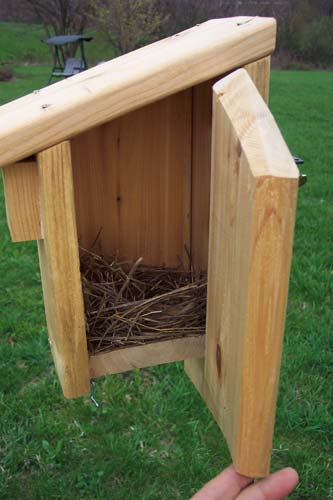 Bluebirds, Birdhouses and Nest boxes